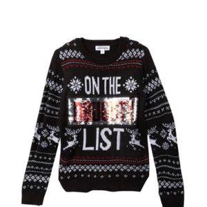 Ten Sixty Sherman On the Naughty/Nice List Sweater